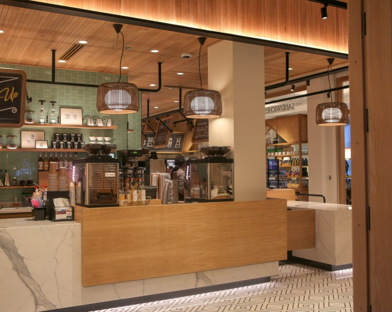 A photo of the interior of Java located at the Walt Disney World Swan Resort
