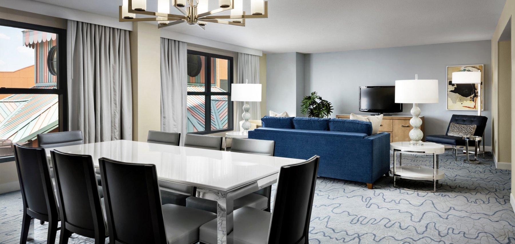 Swan Grand Suite Dining Room