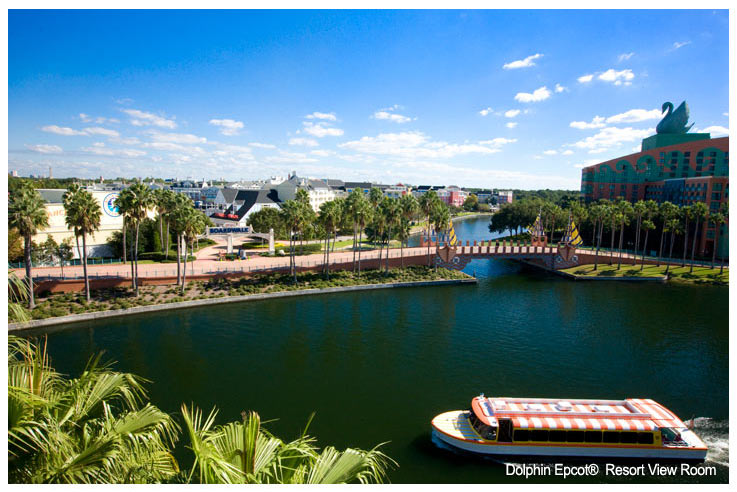 Dolphin Epcot Resort View Room